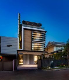 Green Wall House by ADX Architects Pte Ltd (11)