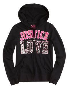 Brand Zip-Up Fleece Hooded Sweatshirt