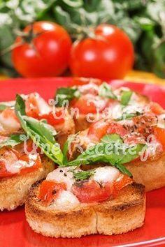 Photo de la recette Bruschetta tomates mozzarella