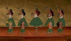 Disney Hula Style Analysis