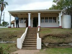 Gandhi's house in Durban, South Africa. He began his struggle for human rights here City By The Sea, Kwazulu Natal, Rest Of The World, Gandhi, Africa Travel, South Africa, Landscape Photography, Pergola, Beautiful Places
