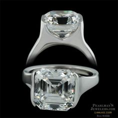 Sholdt - with 4ct Asscher. Ugh. Wow.