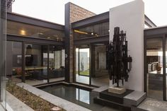 Take a look at yet another impressive modern mansion from Nico van der Meulen architects office, designed to impress with its style and size.