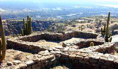 Sitio arqueologico Hualco - La Rioja