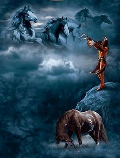 native american quotes about wolves Native American Horses, Native American Wisdom, Native American Pictures, Native American Artwork, Native American Beauty, Indian Pictures, American Spirit, American Indian Art, Native American History