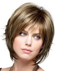 Razor Cut Bob Hairstyles With Bangs | ... best in face framing chin length bob features razor cut ends razor cut