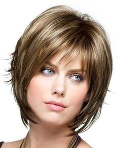 Razor Cut Bob Hairstyles With Bangs | ... best in face framing chin length bob features razor cut ends razor cut