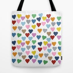 Hearts+#3+Tote+Bag+by+Project+M+-+$22.00