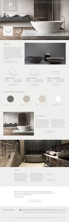 Kelly Hoppen MBE by apaiser Landing Page on Behance