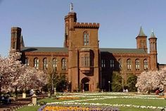 Smithsonian Institution. The National Mall, Washington, DC. Digital photographs© by Inci Bowman.
