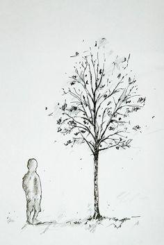 tree tattoo idea / drawing