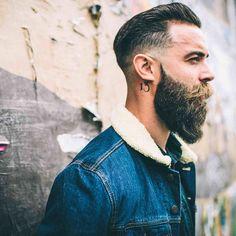 Montgomery Mercado (@montgomeryfrankmercado) photographed by Tommy Cairns (@tomcairns) for Urban Beardsman Magazine (@urban_beardsman) #beards #beardlife #urbanbeardsman #beardbrand