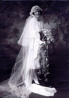 Auténtico #ramo de #novia #vintage Foto inspiradora para Grace!