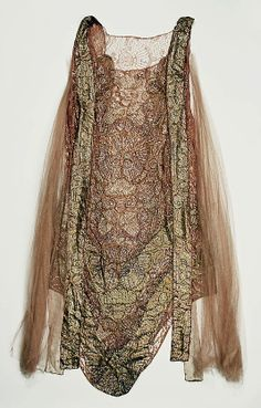 Dress Attributed to Callot Soeurs (French, active 1895–1937) Date: ca. 1924 Culture: American Medium: silk. MMA Collections.