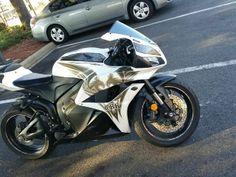 2009 Honda CBR600RR Sportbike , White/Grey, 7,800 miles for sale in Neptune Beach, FL