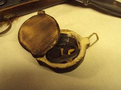 18th Century Wooden Tinder Box