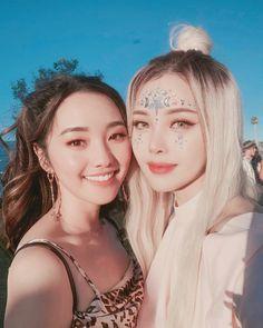 pony park hye min make up 😘🌌 Korean Beauty Tips, Asian Beauty, Creative Makeup, Simple Makeup, Creative Hairstyles, Cool Hairstyles, Pony Korean, Korean Girl, Pony Makeup