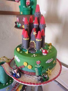 Mario Kart wedding cake nintendo
