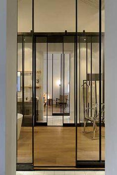 Tall sliding doors - Design Republic Commune