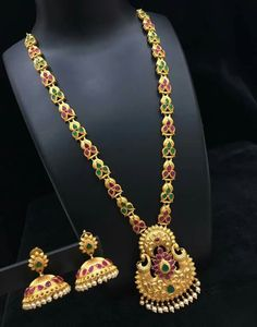 Indian Jewelry Sets, India Jewelry, Bridal Jewellery, Jewellery Designs, Kerala, Chains, Necklaces, Fancy, Women's Fashion