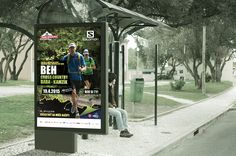 FREEBIE: FREE PSD Outdoor Billboard ad mock up in photoshop everything separated in layers.Exclusive created by us on Free Goodies for designers Saint Emilion, Centre Commercial, Friends With Benefits, Vape Juice, Logo Concept, Free Uk, New Friends, Billboard, Your Skin