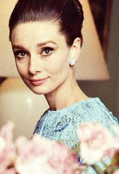 Audrey in her middle years...lovely as ever.