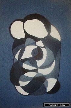 noenga.com :(c) Diego Guzman de Rojas (BOLIVIA) :: La familia :: Others : Abstract : Painting : Oil :