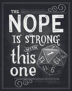 I've been having too much fun with D&D and typography. More to come.