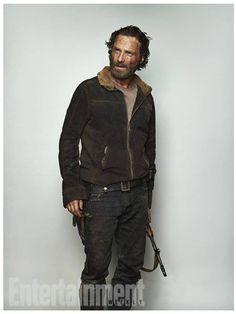 Andrew Lincoln - ''Rick Grimes'' EW