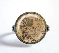 Középfölde gyűrű, (Rohan) Middle, Personalized Items
