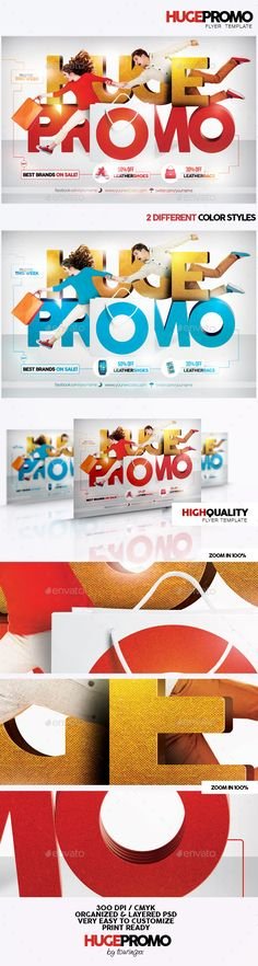 Huge Promo Flyer Template