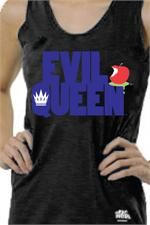 """Is it horrible that I REALLY want this for the Vegas Night Marathon?    On the back it says, """"Fairest of them all!""""    Evil Queen Glow in the Dark Technical Tank"""