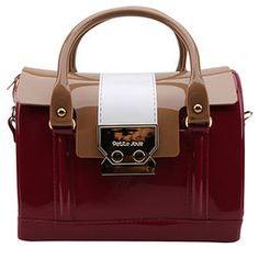 Bolsa Petite Jolie Mini Bag Alça Dupla - Vinho