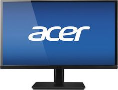 "Acer - H6 Series 23"" IPS LED HD Monitor - Black..."