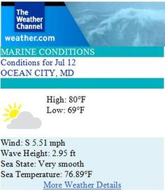 National And Local Weather Radar Daily Forecast Hurricane And Information From The Weather Channel And Weather Com Ocean City Md Ocean City The Weather Channel