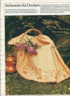 05 - #Embroidery for #tablecloth. #80s #soviet #magazine