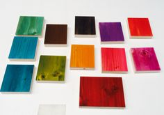 The 12 deep intense colors of 2014 presented by ccoating  #epoxy #colorcoating #liquid gloss