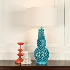 98 best pops of color images on pinterest bedroom suites bedrooms linked chains table lamp aloadofball Gallery