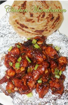 Chicken Manchurian is my all time favourite. I make them quite often and each time they turn out great. I have already shared a versi. Chicken Starter Recipes, Chilli Chicken Recipe, Indian Chicken Recipes, Veg Recipes, Indian Food Recipes, Asian Recipes, Vegetarian Recipes, Cooking Recipes, Recipies