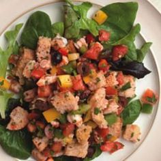 Low-cal dinner salad recipes I want to help  me eat healthy...