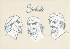 Sinbad: Legend of the Seven Seas (2003) - Character Design
