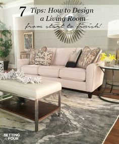 Living Room Design Ideas And $10,000 Giveaway