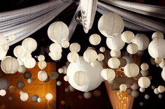 a sea of lanterns...