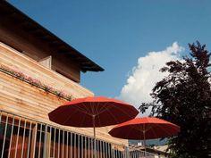 Blick aufs Haus - Park Hotel Azalea
