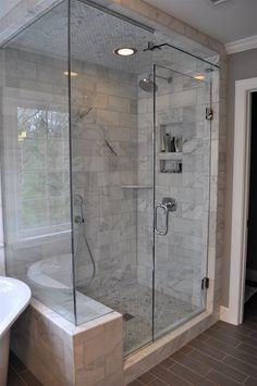 bathroom remodel knobs filed under bath ideas tagged as bath remodel crystal cabinet knobs Master Bathroom Shower, Bathroom Renos, Bathroom Interior, Small Bathroom, Bathroom Canvas, Vanity Bathroom, Bathroom Closet, Steam Showers Bathroom, Modern Bathroom