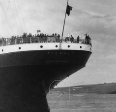 The Poop Deck and Stern of the Titanic