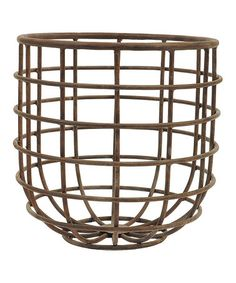 Look at this #zulilyfind! Wire Frame Basket #zulilyfinds