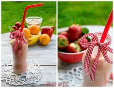 O mais simples é sempre o melhor. Use fruta da época e um pouco de aveia para completar