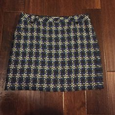 Lined Wool Skirt Loft Skirt LOFT Skirts Mini