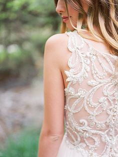 Gorgeous midsummer night's dream wedding inspiration, featuring a breathtaking beaded illusion back wedding dress, Phyllis by Maggie Sottero. Wedding Dress Trends, Wedding Dresses, Midsummer Nights Dream, Maggie Sottero, Bridal Boutique, Illusions, One Shoulder Wedding Dress, Dream Wedding, Wedding Inspiration